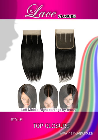 three partings lace closure